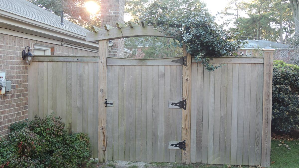 Hampton Roads Fencing Project 012 Craftsman Fencing