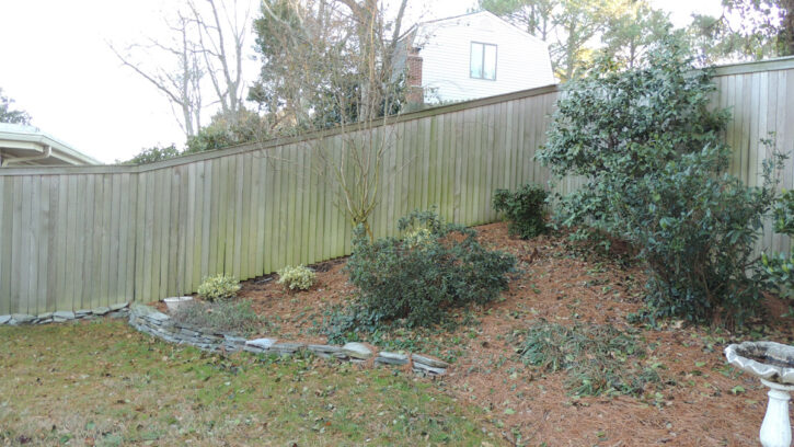 fencing for awkward areas
