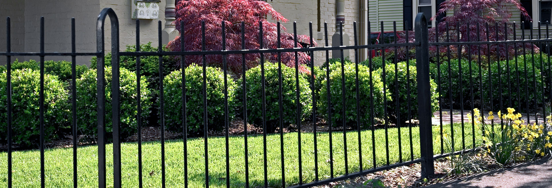 security metal decorative fence